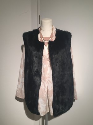 Betty Barclay Fur vest dark blue-blue pelt