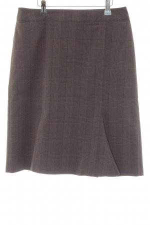 Betty Barclay Godet Skirt glen check pattern classic style