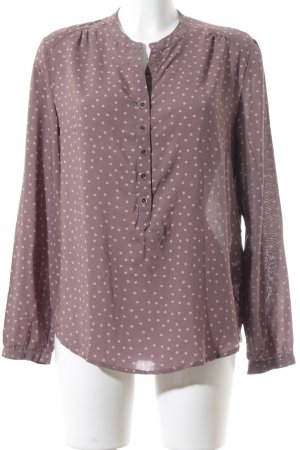 Betty Barclay Hemd-Bluse rosé-blasslila Punktemuster Casual-Look