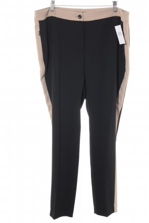Betty Barclay High-Waist Hose schwarz-creme Business-Look