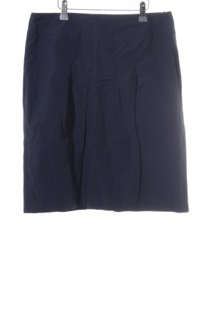 Betty Barclay Rok met hoge taille donkerblauw simpele stijl