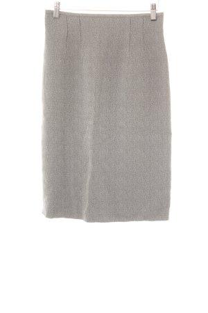 Betty Barclay Falda de talle alto gris claro-negro diseño de espiga