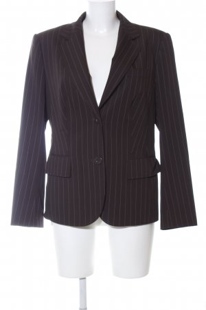 Betty Barclay Kurz-Blazer schwarz Streifenmuster Business-Look