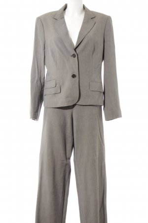 Betty Barclay Trouser Suit light grey-grey flecked business style