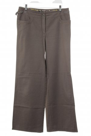 Betty Barclay Lage taille broek lichtbruin casual uitstraling