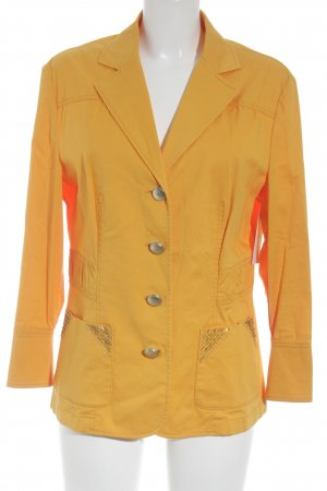 Betty Barclay Jeansblazer hellorange Metallknöpfe