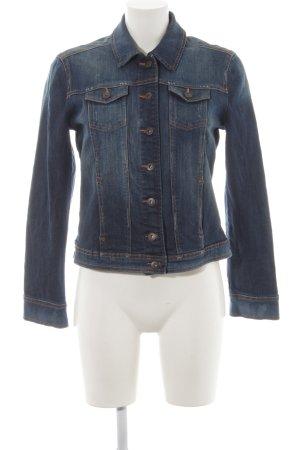 Betty Barclay Jeansjacke dunkelblau-stahlblau Jeans-Optik
