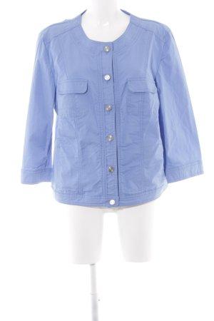 Betty Barclay Jeansjacke kornblumenblau schlichter Stil