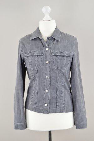 Betty Barclay Jeansjacke mit Taschen grau Größe M