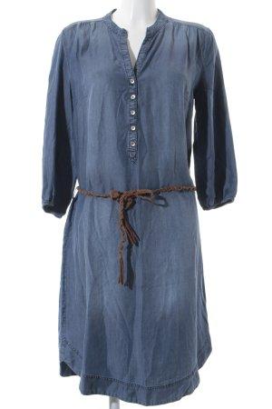 Betty Barclay Jeanskleid braun-blassblau Jeans-Optik