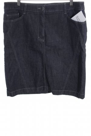 Betty Barclay Jeansrock dunkelblau Casual-Look