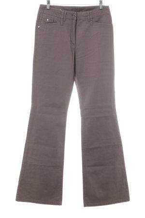 Betty Barclay Jeans flare gris vert style décontracté