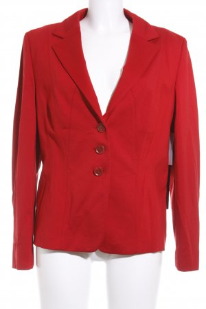 Betty Barclay Jerseyblazer dunkelrot Casual-Look