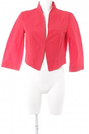 Betty Barclay Jersey Blazer rojo look casual