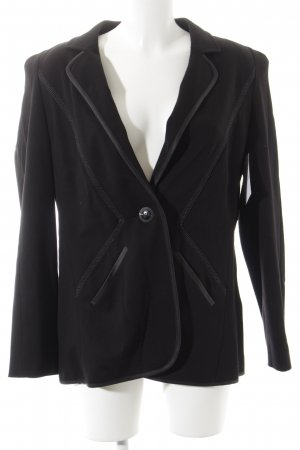 Betty Barclay Jerseyblazer schwarz Business-Look