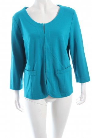 Betty Barclay Jerseyblazer türkis Casual-Look