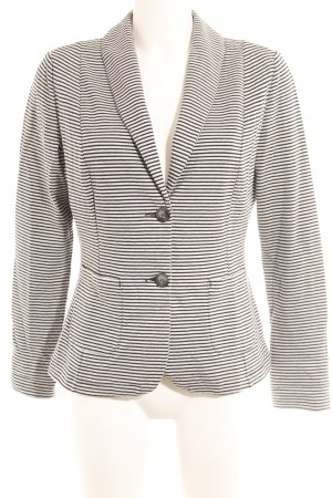 Betty Barclay Jersey Blazer blanco-azul oscuro estampado a rayas look casual