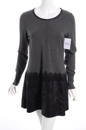 Betty Barclay Kleid grau-schwarz klassischer Stil