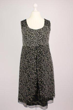 Betty Barclay Kleid mit Animalprint braun Größe L