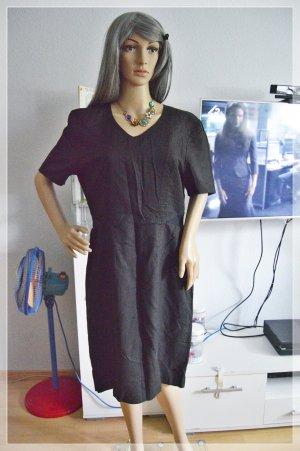 Betty Barclay Kleid mit Herz Knöpfen 42/44 Leinen