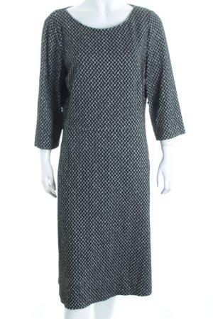 Betty Barclay Kleid schwarz-weiß Fischgrätmuster Business-Look