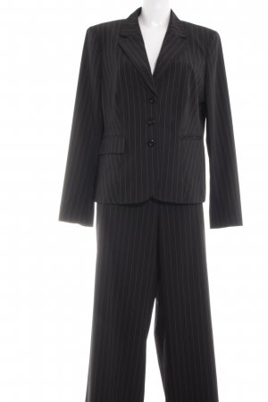 Betty Barclay Ladies' Suit black pinstripe business style