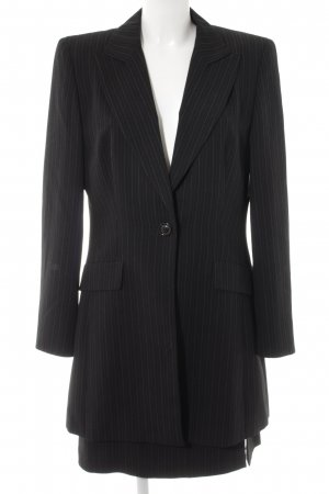 Betty Barclay Ladies' Suit black-white pinstripe business style