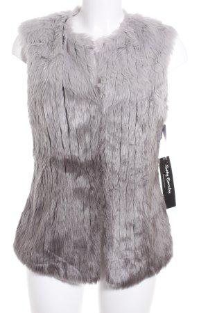 Betty Barclay Vest van imitatiebont lichtgrijs-grijs kleurverloop