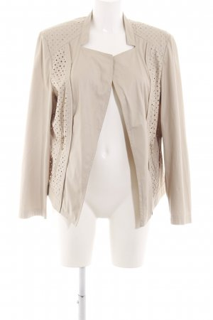 Betty Barclay Kunstlederjacke creme Business-Look