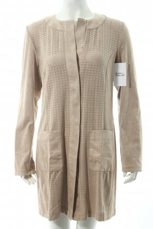 Betty Barclay Kunstlederjacke beige Boho-Look