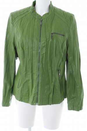 Betty Barclay Kunstlederjacke grün Casual-Look