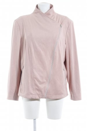 Betty Barclay Kunstlederjacke rosa Casual-Look