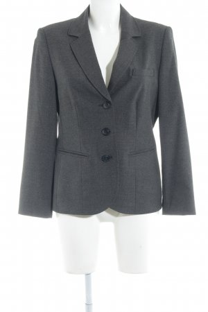 Betty Barclay Kurz-Blazer anthrazit Karomuster Elegant