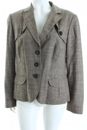 Betty Barclay Kurz-Blazer beige-schwarz Business-Look