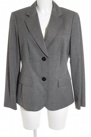 Betty Barclay Kurz-Blazer grau meliert Business-Look