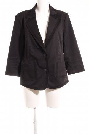 Betty Barclay Blazer corto negro estilo «business»
