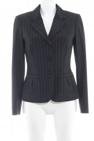 Betty Barclay Kurz-Blazer schwarz-weiß Nadelstreifen Business-Look