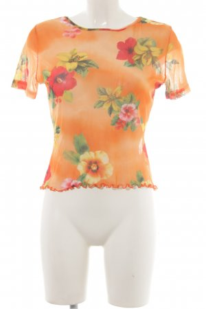 Betty Barclay Kurzarm-Bluse Blumenmuster Casual-Look