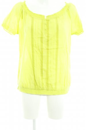 Betty Barclay Kurzarm-Bluse neongrün Casual-Look