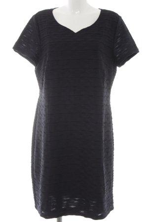 Betty Barclay Kurzarmkleid dunkelblau-schwarz Elegant