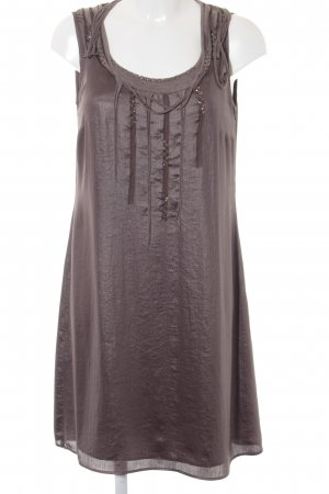 Betty Barclay Kurzarmkleid graubraun-taupe Elegant