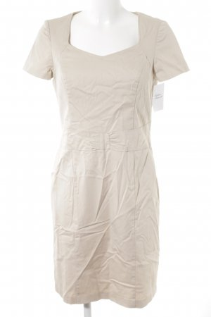 Betty Barclay Vestido de manga corta beige claro estilo «business»