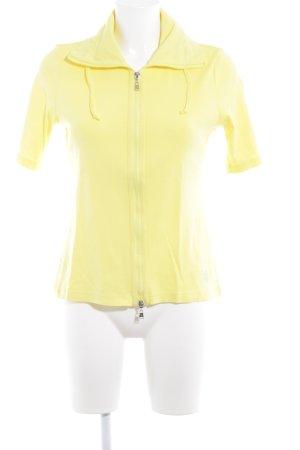 Betty Barclay Kurzjacke gelb-silberfarben sportlicher Stil