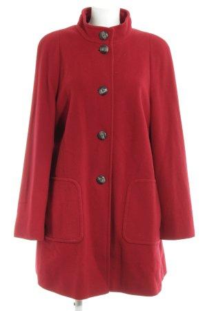 Betty Barclay Manteau court rouge foncé style décontracté