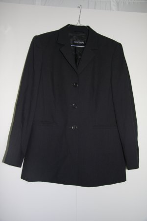 Betty Barclay Länger geschnittener Business-Blazer Kurzmantel anthrazit Gr. 38