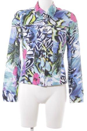Betty Barclay Langarm-Bluse abstraktes Muster extravaganter Stil