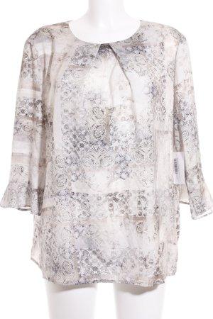 Betty Barclay Langarm-Bluse abstraktes Muster Romantik-Look