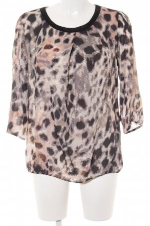 Betty Barclay Blusa de manga larga estampado con puntos de colores look casual