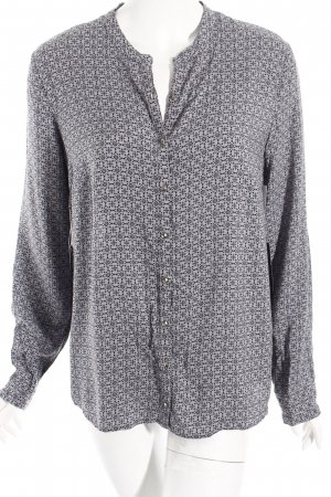 Betty Barclay Langarm-Bluse grau-schwarz Casual-Look