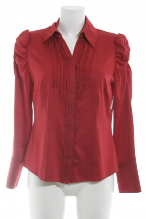 Betty Barclay Blusa de manga larga rojo elegante